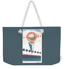 Weekender Tote Bag featuring the drawing Idea Ismay by Rod Ismay