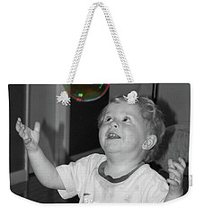 Weekender Tote Bag featuring the photograph Imagine by Robert Meanor