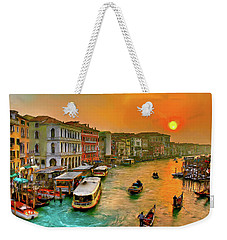 Imbarcando. Venezia Weekender Tote Bag