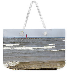 Weekender Tote Bag featuring the photograph In The Distance by Tara Lynn