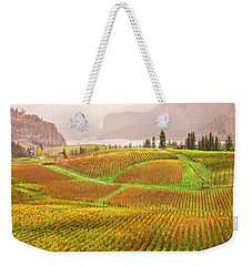 In The Early Morning Rain Weekender Tote Bag