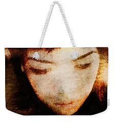 In Thoughts Weekender Tote Bag