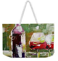 In Vino Veritas. Wine Collection Weekender Tote Bag
