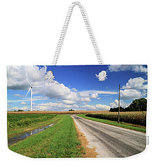 Indiana Backroad Weekender Tote Bag