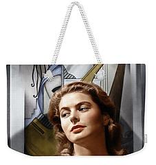 Weekender Tote Bag featuring the photograph Ingrid Bergman by Granger