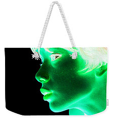Inverted Realities - Green  Weekender Tote Bag