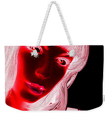 Inverted Realities - Red  Weekender Tote Bag