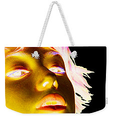 Inverted Realities - Yellow  Weekender Tote Bag