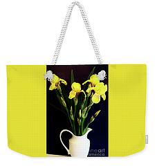 Iris Bouquet Weekender Tote Bag