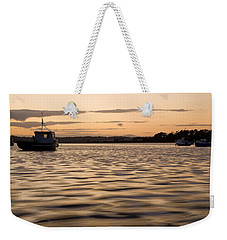 Weekender Tote Bag featuring the photograph Irish Dusk by Ian Middleton