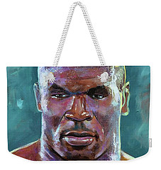 Iron Mike Weekender Tote Bag by Robert Phelps