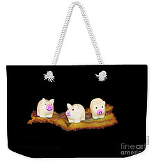 Ironic Pigs Weekender Tote Bag