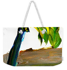 Weekender Tote Bag featuring the painting Island Time by Fred Wilson