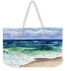 Jersey Shore Weekender Tote Bag by Clara Sue Beym