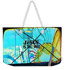 Jesus Is The Way Weekender Tote Bag