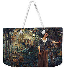 Weekender Tote Bag featuring the  Joan Of Arc C1412-1431 by Granger