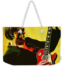 Joe Bonamassa Weekender Tote Bag by Semih Yurdabak