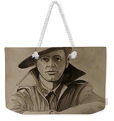 Joe Weekender Tote Bag by Ray Agius