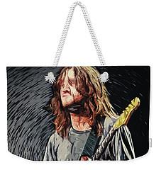 John Frusciante Weekender Tote Bag by Taylan Apukovska