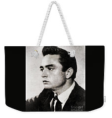 Johnny Cash, Singer Weekender Tote Bag
