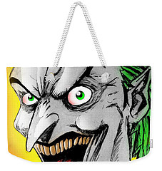 Joker Weekender Tote Bag by Salman Ravish