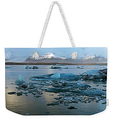 Weekender Tote Bag featuring the photograph Jokulsarlon, The Glacier Lagoon, Iceland 5 by Dubi Roman