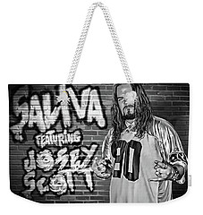 Josey Scott Saliva Weekender Tote Bag by Don Olea