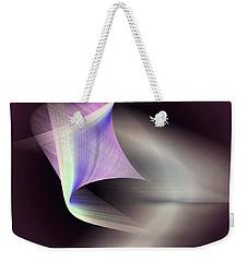 Weekender Tote Bag featuring the digital art Joyful by Iris Gelbart