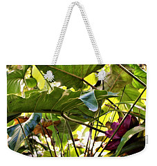 Weekender Tote Bag featuring the photograph Jungle Jive by Mindy Newman