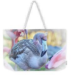 Juvenile Flamingo Weekender Tote Bag