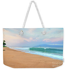 Weekender Tote Bag featuring the photograph Ka'anapali Waves by Kelly Wade