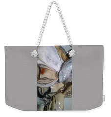 Oysters In Ponzu Vinegar Weekender Tote Bag