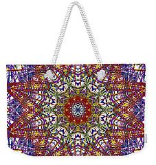 Kaleidoscope 414 Weekender Tote Bag