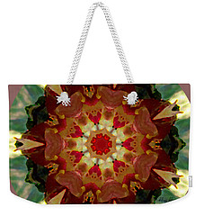Kaleidoscope - Warm And Cool Colors Weekender Tote Bag