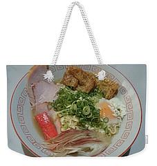 Ramen  Weekender Tote Bag