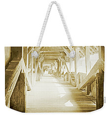 Kapell Bridge, Lucerne, Switzerland, 1903, Vintage, Photograph Weekender Tote Bag by A Gurmankin
