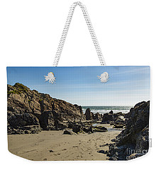 Weekender Tote Bag featuring the photograph Kennack Sands by Brian Roscorla