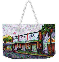 Key West Florida Sloppy Joes Bar Weekender Tote Bag by Bill Cannon