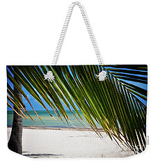 Weekender Tote Bag featuring the photograph Key West Palm by Kelly Wade