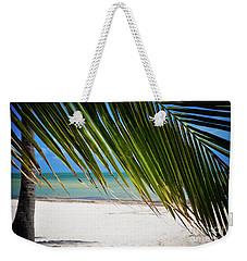 Key West Palm Weekender Tote Bag
