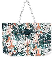 Kingfisher Weekender Tote Bag
