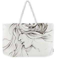 Kiss Of Wind Weekender Tote Bag