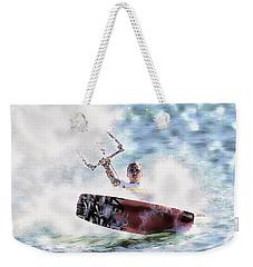 Kitesurf  Weekender Tote Bag