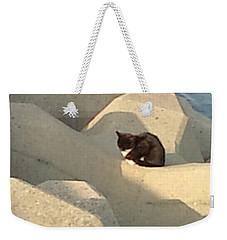 Koneko Means A Kitten. Weekender Tote Bag