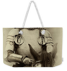 Knights Of Old 12 Weekender Tote Bag by Bob Christopher