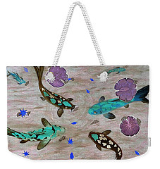 Koi Fish Feng Shui Weekender Tote Bag