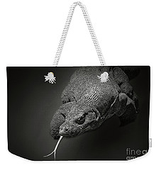 Komodo Dragon Weekender Tote Bag by Charuhas Images