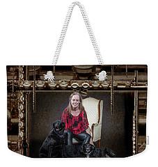Krishin Blaise 002 Weekender Tote Bag by M K  Miller