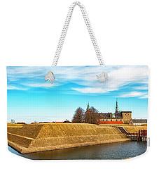Weekender Tote Bag featuring the photograph Kronborg Castle In Helsingor by Antony McAulay