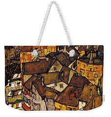 Krumau - Crescent Of Houses Weekender Tote Bag